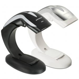 Datalogic Heron HD3130 scanner à main 1D multi-interface avec support pour commerces & points de vente
