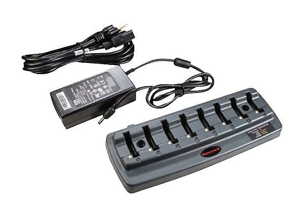Station de recharge 8 slots pour Honeywell 8650 & 8670 - 8650377CHARGER